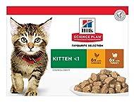 Hill's Cat Food Hills Feline Kitten Mpk Cig Poultry (12Pk) 85g