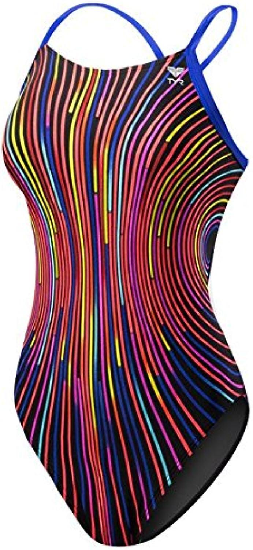 TYR Durafast Lite 200+ Solid Brites Diamondfit Swimsuit