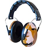 Edz Kidz キッズ 赤ちゃん用 6カ月-15歳 遮音値26db イギリスで大ヒット イヤーマフ ピンクカモフラージュデザイン