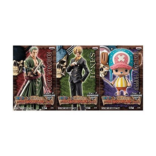 One Piece DX Figure ~ THE GRANDLINE MEN ~ vol.12 all three set (japan import)
