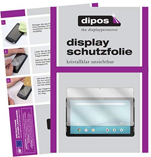 dipos I 2X Schutzfolie klar kompatibel mit TrekStor SurfTab Theatre 13.3 Folie Bildschirmschutzfolie