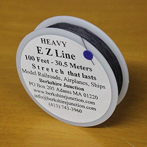 EZ Line Simulating Wires Charcoal/Black - Heavy