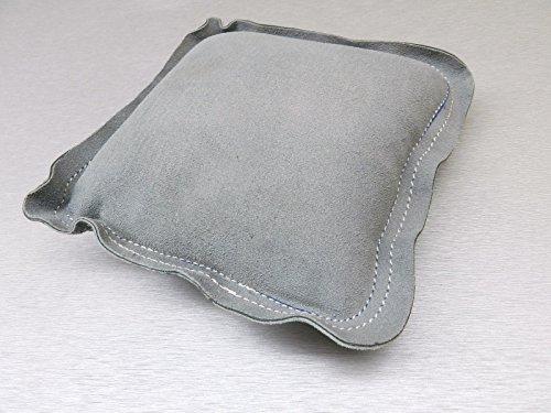 "Sandbag Leather 7"" Square Bench Anvil Metal Forming Dapping Chasing Engraving (lb. 3.9 FRE)"