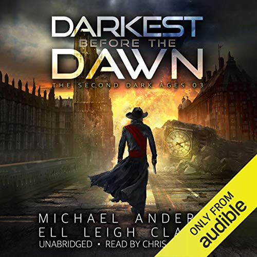 Darkest Before the Dawn audiobook cover art
