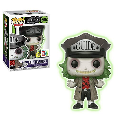 Funko Beetlejuice POP! Vinilo GLID Exclusivo