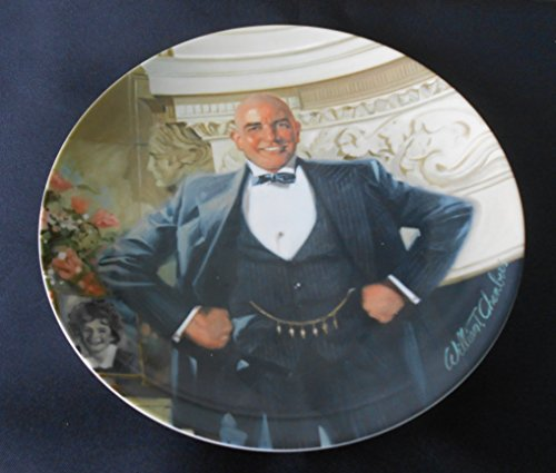 Bradex C1982 Bradford Exchange Annie Collector Teller Daddy Warbucks