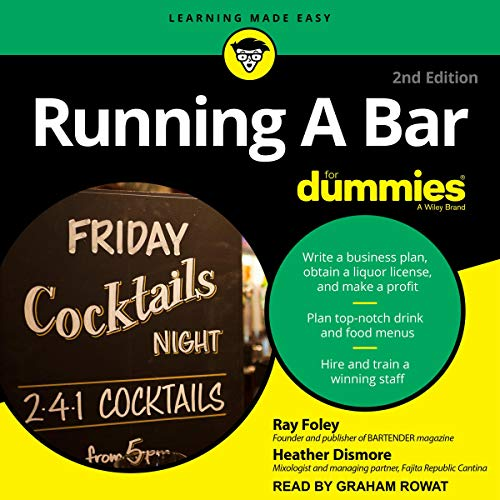 Running a Bar for Dummies audiobook cover art