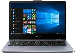Asus VivoBook Flip 14 Black 2-In-1 Laptop Computer