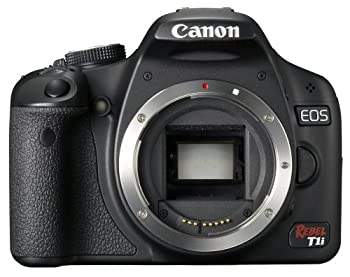 Canon EOS Rebel T1i 15.1 MP CMOS Digital SLR Camera with 3-Inch LCD  Body Only