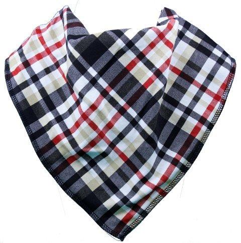 Adult Bandana Bib/Clothing Protector - 4 Sizes Avaliable (ERNIE) (Size 3) by BibblePlus Dignity Bibs