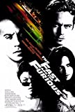 The Fast and The Furious Movie Poster (68,58 x 101,60 cm)