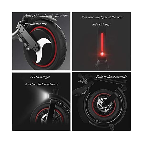 51hQZt KgxL. SS600  - Ydshyth Faltbares E-Bike, 14 Zoll Große Kapazität Pedelec Mit Lithium-Akku Und Ladegerät Mit 48V 7.8Ah Lithium-Akku, 450W Motor 32Km/H Für Herren Damen