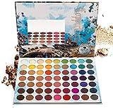 ZXCV UCANBE Belle 63 Colores Rainbow Eyeshadow Palette Makeup Shimmer Glitter Matte Creamy Eye Shadow Pigmento maquillage Paleta de Sombra