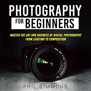 Photography for Beginners audiobook cover art