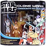 Clone Wars Commemorative 3 Pack Commander Cody, General Grievous and Obi Wan by Star Wars