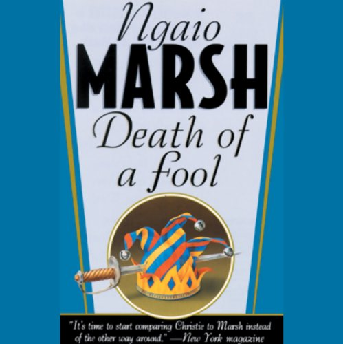 Death of a Fool audiobook cover art