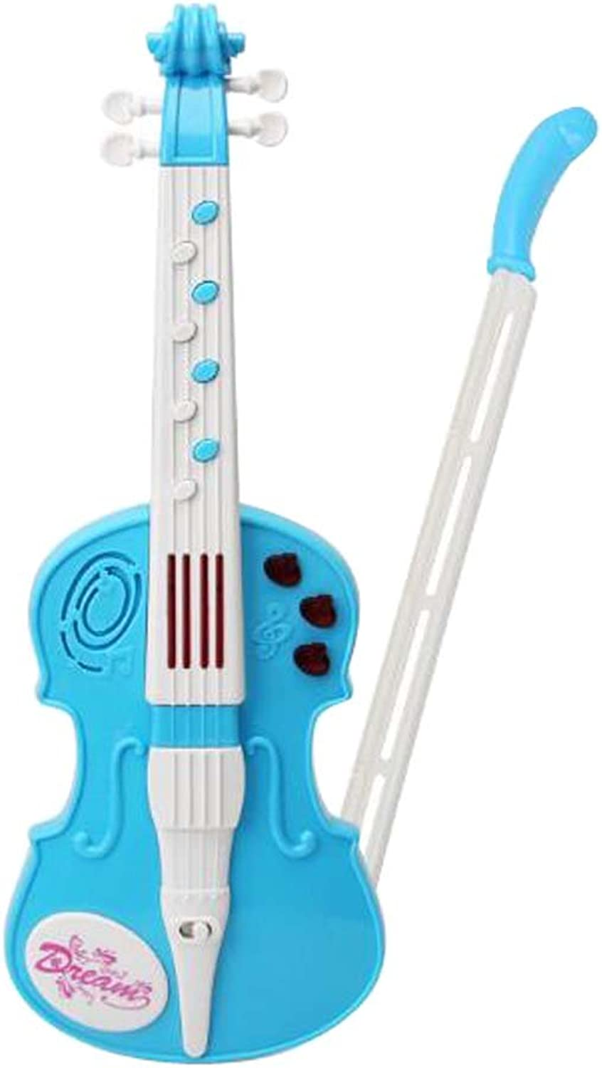 Kids Playable Violin Beginner Accordion Musical Toy Instrument,36x13 CM A