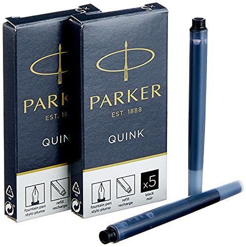parker 1950382 クインク 万年筆 リフィル 10 本 パック