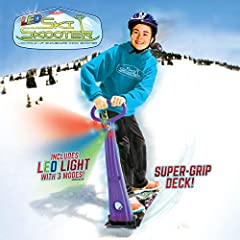 """THE BEST IN WINTER FUN - Our premium designed Ski Skooter will provide hours of """"snowboarding"""" winter fun for your kids. Great for use in your neighborhood, on snow covered hills, flat snow covered sidewalks or even up in the mountains. MULTI USE SKO..."""