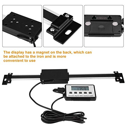 Amazing Deal YF-Chen Lathe Accessories Digital Readout Kit,Remote DRO Linear Scale,0-300mm Accurate,...