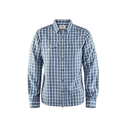 Fjallraven Abisko Cool Shirt LS M Sweatshirt, Uncle Blue, L Mens