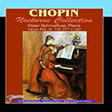 Chopin Nocturne Collection, Opus No. 9, 15, 27 & 32