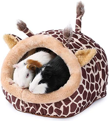 JanYoo Bunny Bed Guinea Pig Hideout Huts Accessories Habitat Tunnel for House product image