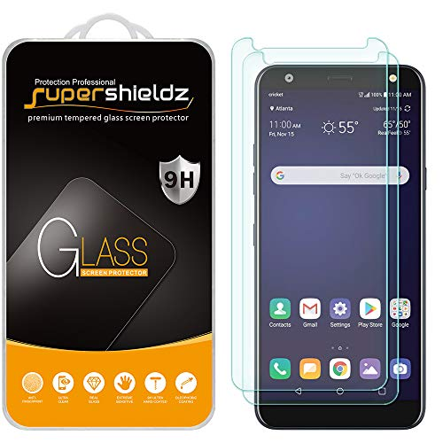 (2 Pack) Supershieldz for LG (Harmony 3) Tempered Glass Screen Protector, 0.31mm, Anti Scratch, Bubble Free