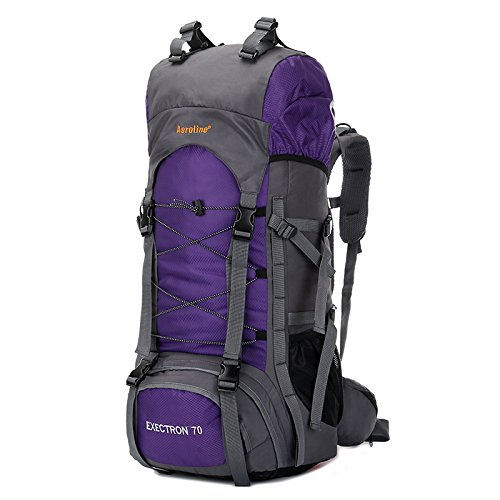 XIE@ Borsa all'aperto alpinismo Oxford Sport zaino zaino impermeabile e antistrappo uomini e donne borsa a tracolla , purple
