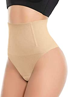 ShaperQueen 102B Thong - Women Waist Cincher Girdle Tummy Slimmer Sexy Thong Panty Shapewear