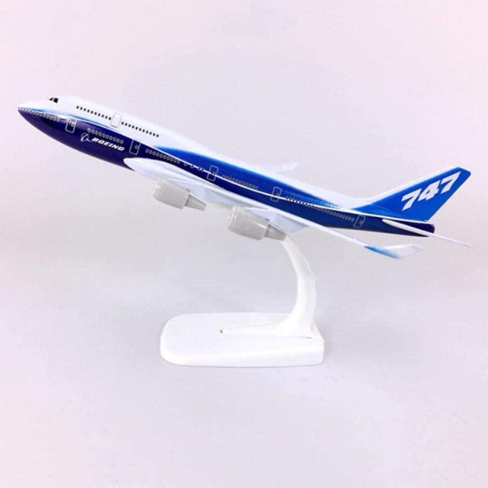 security 20CM Scale Boeing Max 83% OFF 747 Airline Aircr Collection Display Model Toy