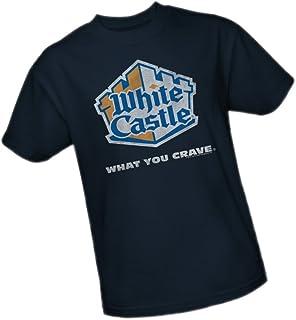 Shirt White Castle National Institution Adult Ringer T