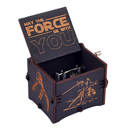 Enjoy The Wood Star Wars Music Box Wooden Star Wars Custom Gift for Boyfriend Gift for Brother Collectible Music Box Gift