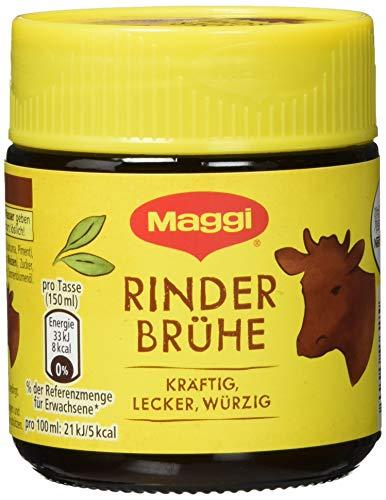Maggi Rinder Brühe, Glas, 10er Pack (10 x 108 g)
