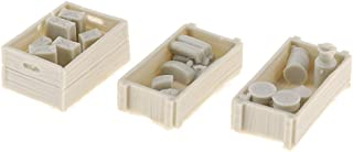 Flameer 1/35 Food Supplies Case Model Unpainted for Mini Sand Table Military Scene