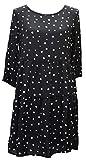 JACQUELINE de YONG 3/4 Kleid JDYORLA FRILL DRESS 15138687 black Gr. 40