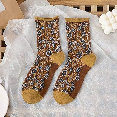 2 Pares de Calcetines para Hombres y Mujeres Calcetines de Felpa cálidos Gruesos de Invierno Calcetines de Tubo para Mujer Calcetines de Piso Calcetines de Toalla-a53