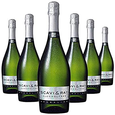 Scavi & Ray Alcohol Free Sparkling Wine, 75 cl (Case of 6)