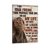 xingyao Tierposter Labrador, Schokoladen-Labrador, I Am
