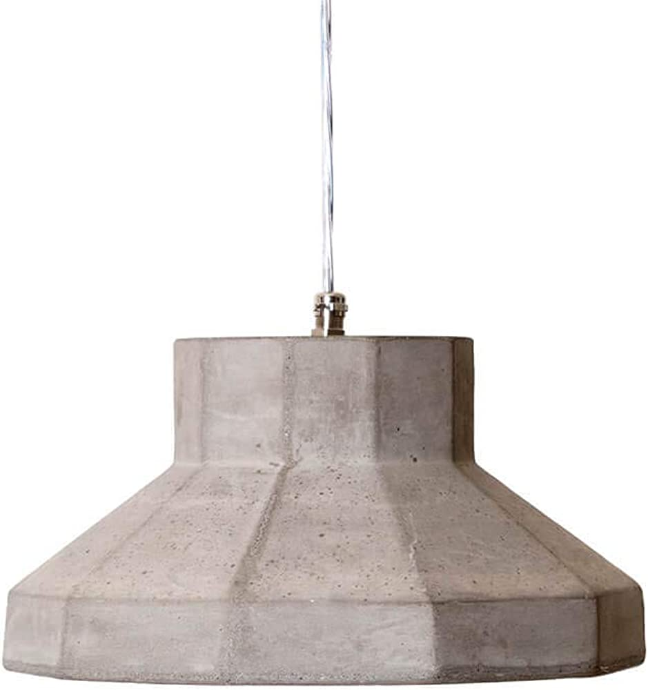 Karman settenani gongolo, lampada a sospensione, in cemento SE687N7