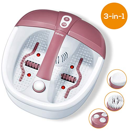 Beurer FB35 Foot spa with Aromatherapy | Foot Massager with stimulating Infrared Light Therapy | 3...