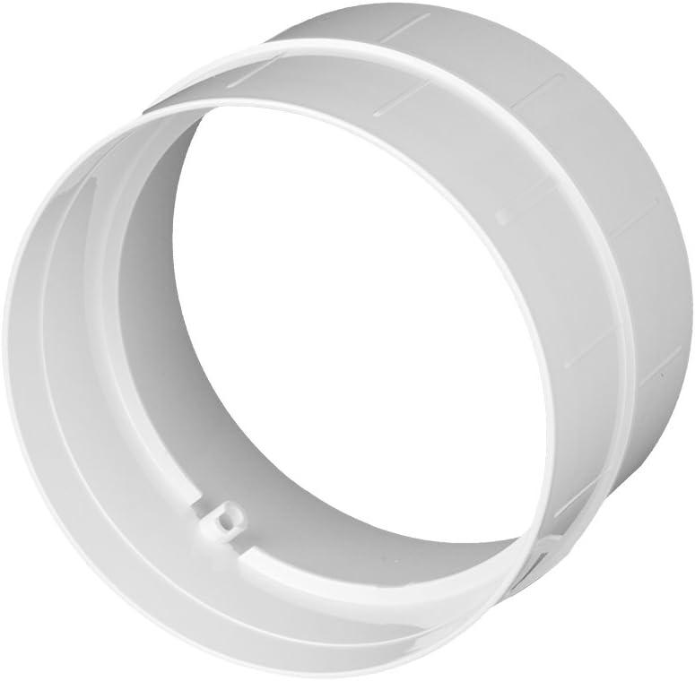 90/° Bogen Rohrbogen 90 Grad PVC rund L/üftung Abluft Zuluft System /Ø 100