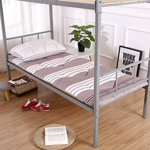 JKL J-Almohada Dormir Tatami Estera del Piso, futón Cojines de ratón, Acolchado Transpirable for colchón Topper, Suelo de colchón, for el Estudiante compartida (Color : H, Size : 90x200cm(35x79inch))