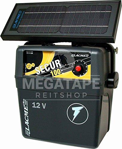 Weidezaun Batteriegerät mit Solarmodul, Lacme Secur Solis 12V-6W Solarmodul, 1,0 J
