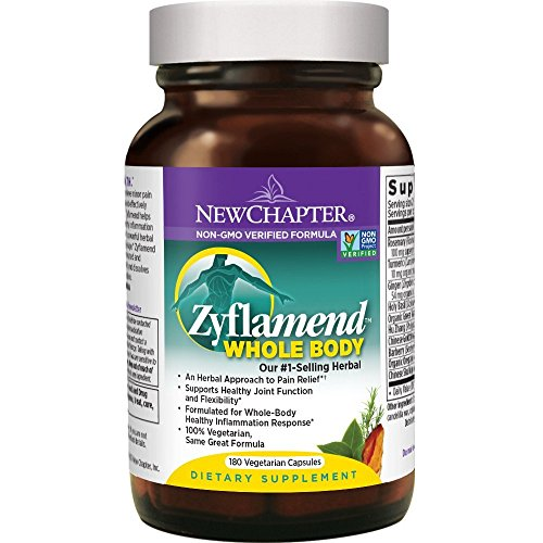 New Chapter Zyflamend Whole Body Joint Supplement, Herbal Pain Reliever for Inflammation Response - 360 ct