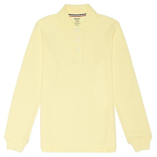 659ac7cd5 French Toast Boys  Long-Sleeve Pique Polo Shirt