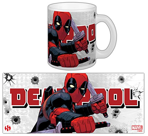 Taza Deadpool Katana rama–Marvel