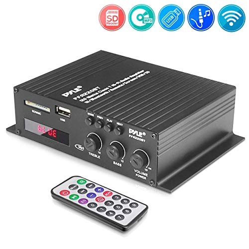 Amazing Deal Pyle Class-T Bluetooth Power Audio Amplifier - 120W Mini Dual Channel Sound Stereo Rece...