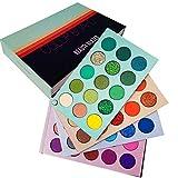 Beauty Glazed Eyeshadow Palette 60 Colors Mattes and Shimmers Paletas de colores de alta pigmentación Paleta de maquillaje de larga duración Blendable Professional Eye Shadow Make Up Eye Cosmetic