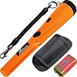 Metal Detector ,Waterproof of Metal Detector Pin Pointer 360 Degree Search Treasure Finder with High Sensitivity for All Kinds of Metal for Adults and Kids.(A 9V Battery Included)